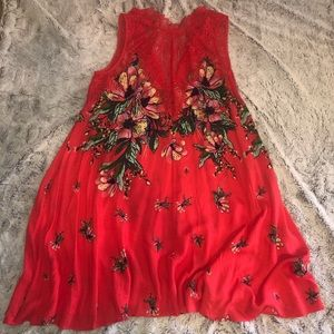 Beautiful Free People floral dress